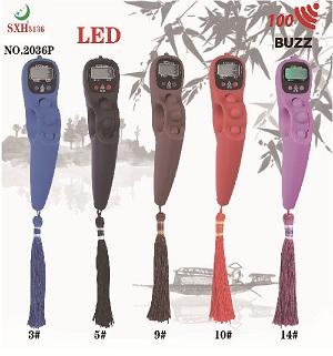 2036p 整百提示喷漆款LED佛珠记数器