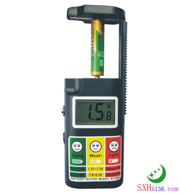 BT-568 液晶显示电池测试器