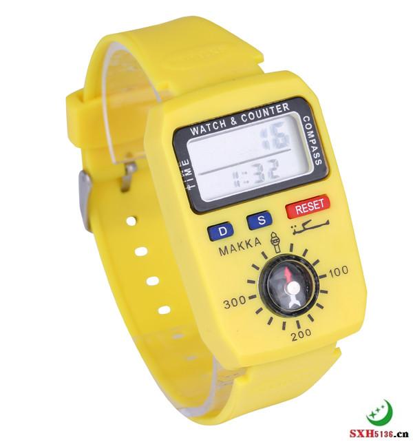 手表带指南针记数器