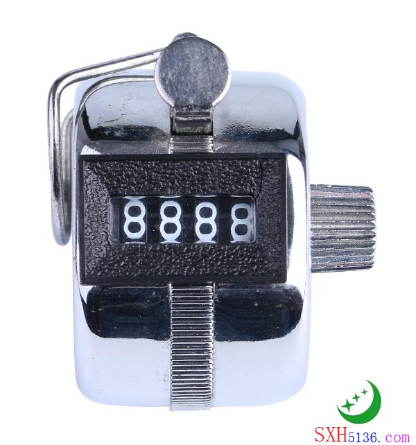 5208 黑圈全电镀计数器