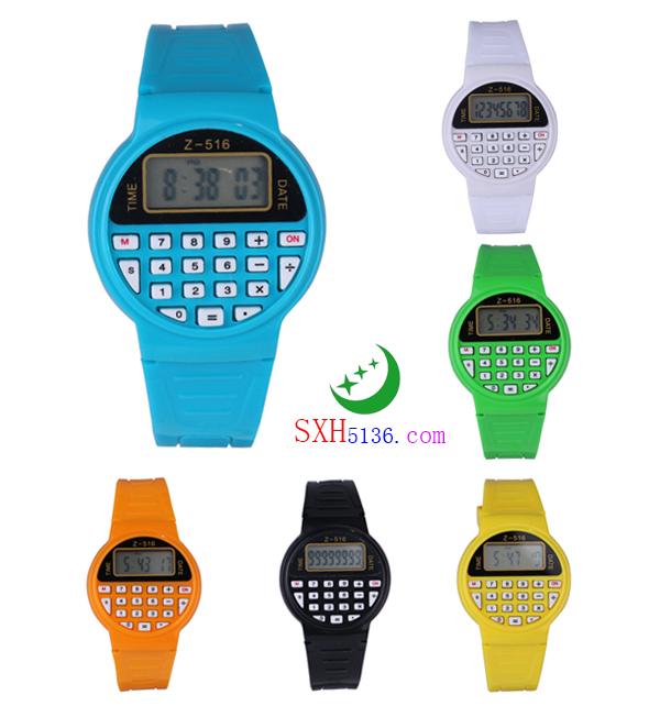 Z-516 圆形计算器手表