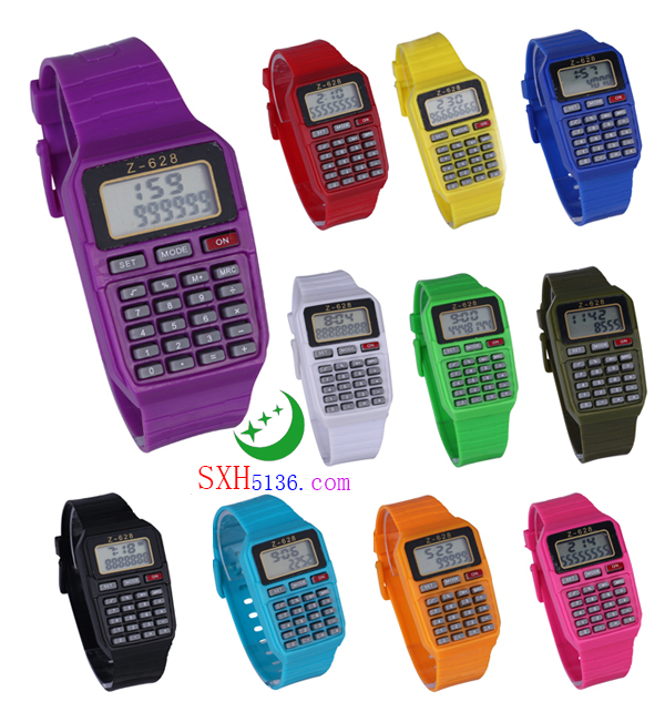 Z-628 计算器手表