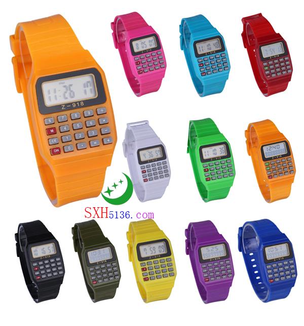 Z-918 彩色计算器手表