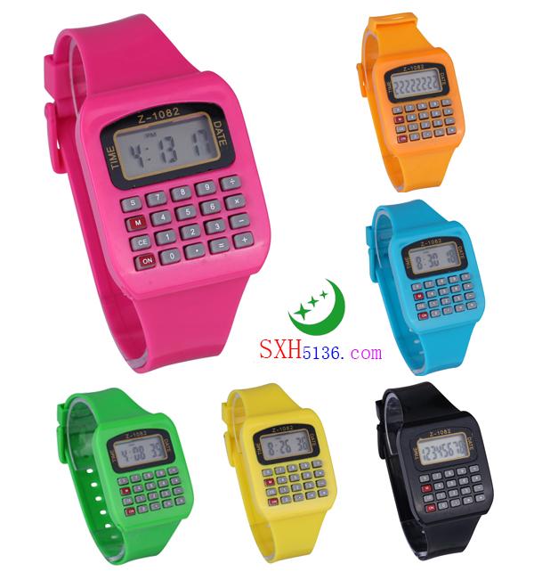 Z-1082 时尚计算器手表