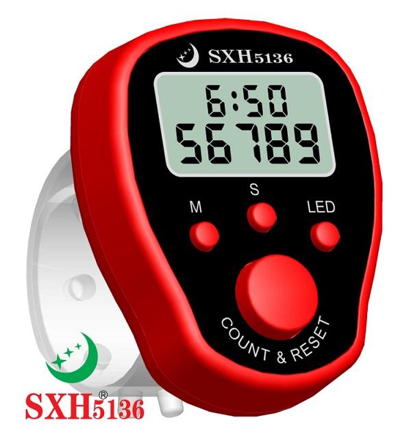 带时间LED计数器